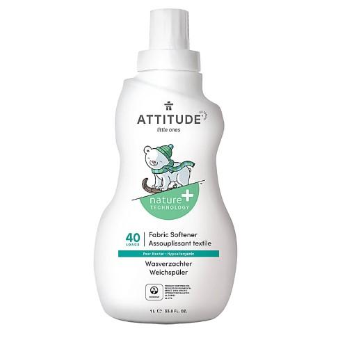 Attitude Little Ones Assouplissant pour Bébé - Nectar de poire (40 lavages)