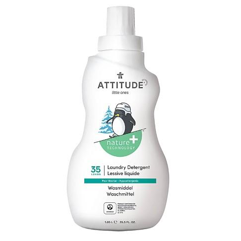 Attitude Little Ones Lessive Liquide pour Bébé - Nectar de poire (35 lavages)