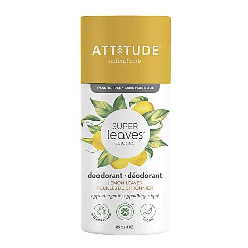 Attitude Super Leaves Déodorant - Feuilles de Citronnier