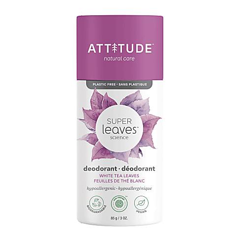 Attitude Super Leaves Deodorant - White Tea