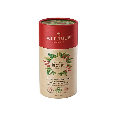Attitude Super Leaves Déodorant - Feuilles de Vigne Rouge