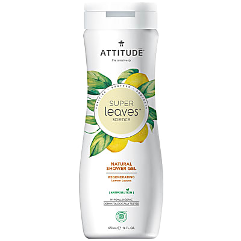 Attitude Super Leaves Gel Douche Naturel - Revitalisant