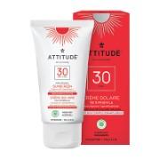 Attitude Crème Solaire - FPS 30 - sans parfum