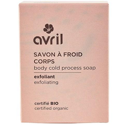 Avril Savon à Froid Corps Exfoliant (100g)