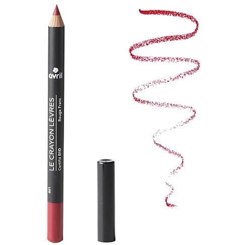 Avril Crayon Rouge à Lèvres Rouge Franc