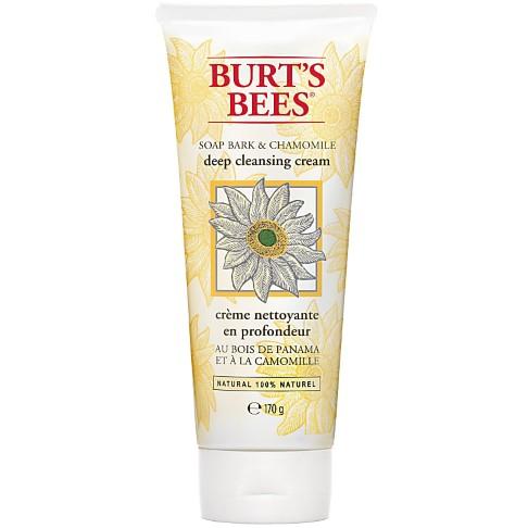 Burt's Bees - Crème Nettoyante en Profondeur - Bois de Panama & Camomille