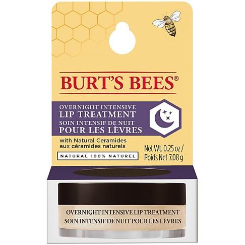 Burt´s Bees Soin Intensif de Nuit pour les Lèvres