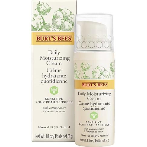 Burt's Bees - Crème de jour hydratante - Gamme Sensitive