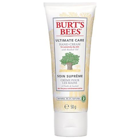 Burt's Bees - Crème pour les mains à l'huile de baobab