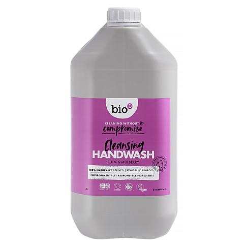 Bio-D Savon Mains Antibactérien Prune & Mûre Recharge 5L