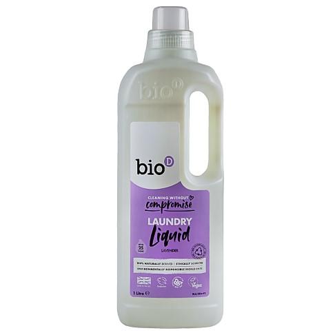 Bio-D Lessive Liquide Concentrée à la Lavande 1L