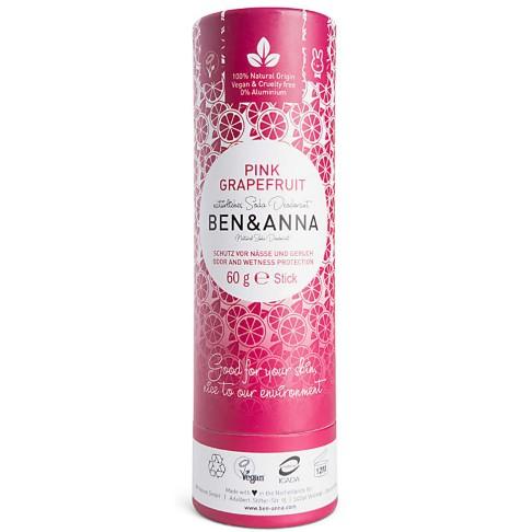 Ben & Anna Stick Déodorant - Pamplemousse Rose