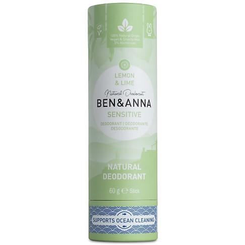Ben & Anna Déodorant Sensitive - Lemon & Lime