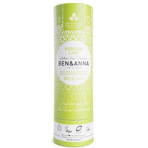 Ben & Anna Stick Déodorant - Limette de Perse