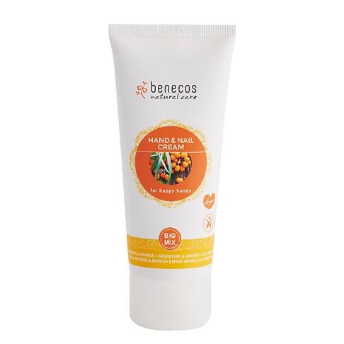 Benecos Crème pour les Mains et les Ongles à l'Argousier et à l'Orange