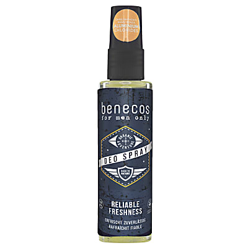 Benecos For Men Only Spray Déodorant