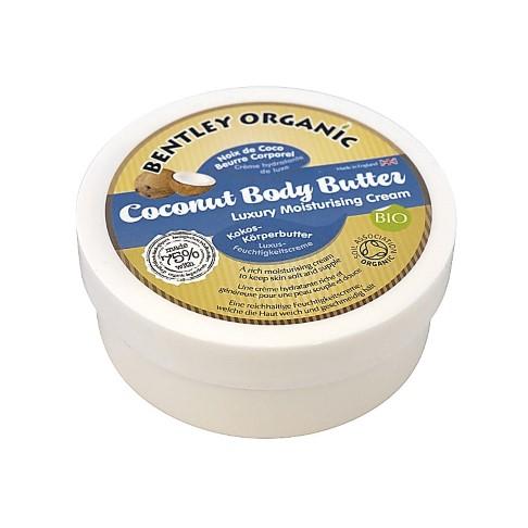 Bentley Organic Beurre Corporel à l'Huile de Coco Bio