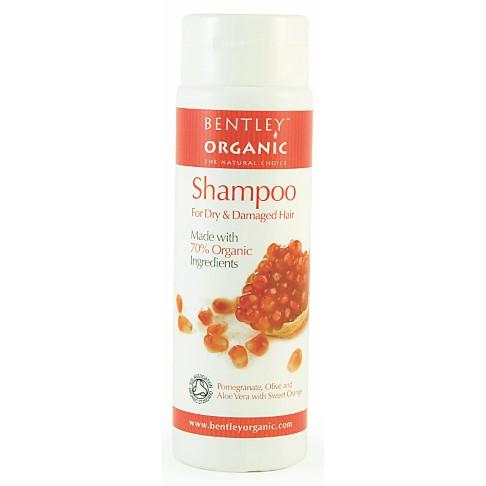Bentley Organic - Shampoing Cheveux Abîmés et Secs