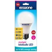 Ecozone Ampoule à Vis Biobulb LED E27 Lumière du Jour 14 watts