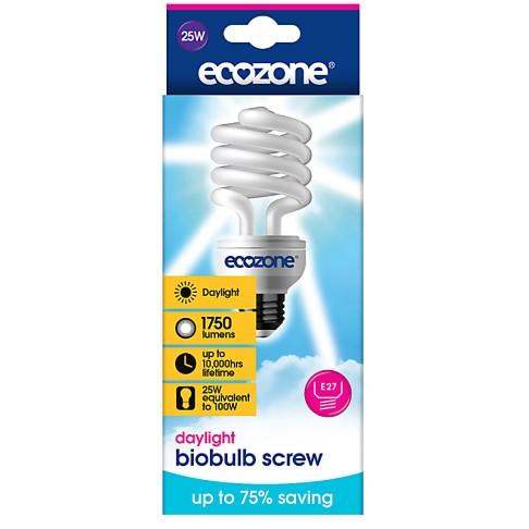 Ecozone - Ampoule Eco Lumière du Jour 25W (à Vis)