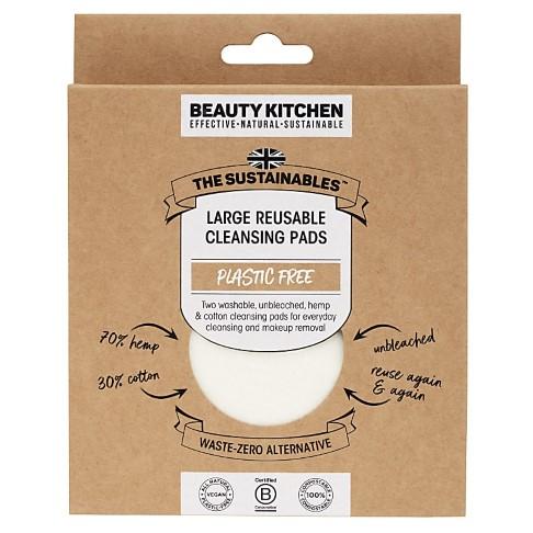 Beauty Kitchen Grand Lingettes Réutilisables - 2 Pièces