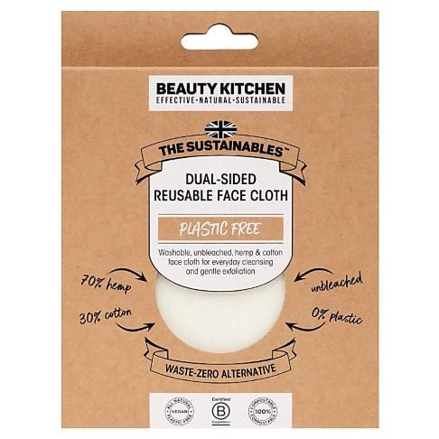 Beauty Kitchen Lingettes Réutilisables Double Face