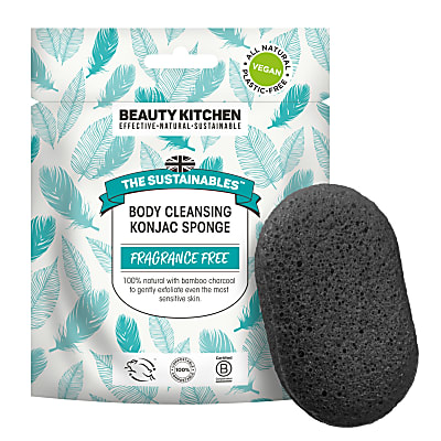 Beauty Kitchen The Sustainables Éponge au Konjac Nettoyante Corps Sans Parfum