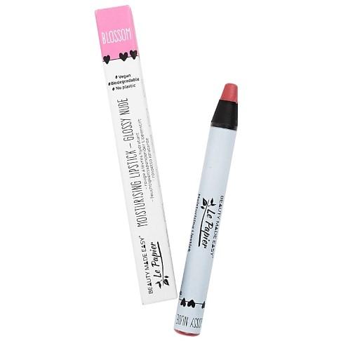 Beauty Made Easy Le Papier Rouge à Lèvres Brillant Hydratant Sans Plastique - BLOSSOM