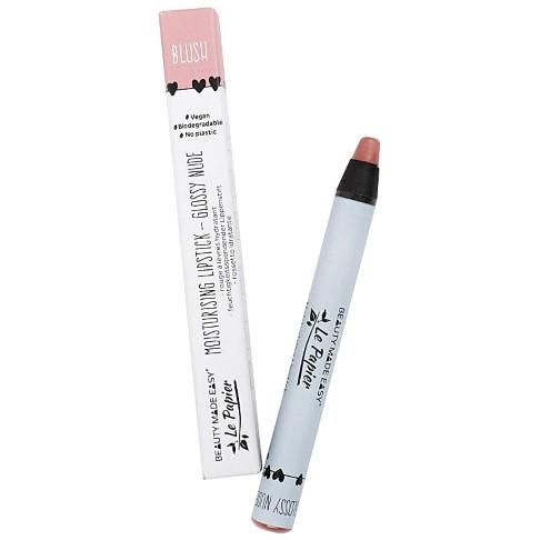 Beauty Made Easy Le Papier Rouge à Lèvres Brillant Hydratant Sans Plastique - BLUSH