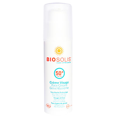 Bio Solis Crème Visage SPF 50+