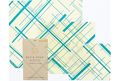 Bee's Wrap Assortiment 'Everybody's Teal' Petite+Moyenne+Large