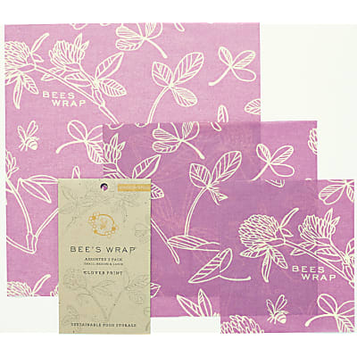 Bee's Wrap Assortiment 'Mimi's Purple' Petite+Moyenne+Large