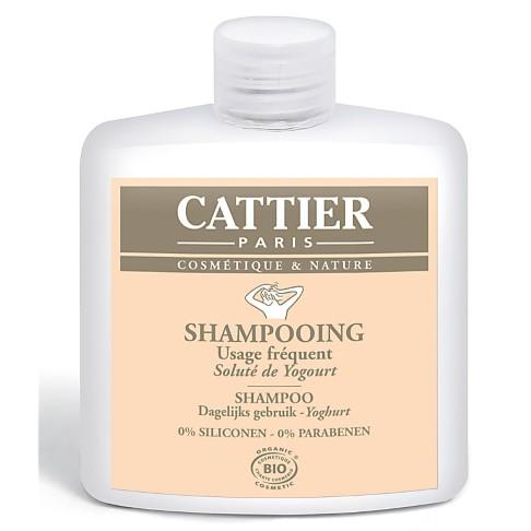 Cattier-Paris Shampooing Usage Fréquent - Soluté de Yogourt