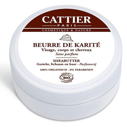 Cattier Beurre de karité 100% Naturel (100g)