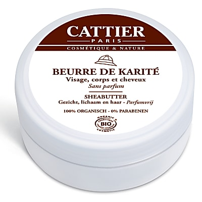 Cattier Beurre de karité 100% Naturel (100g)