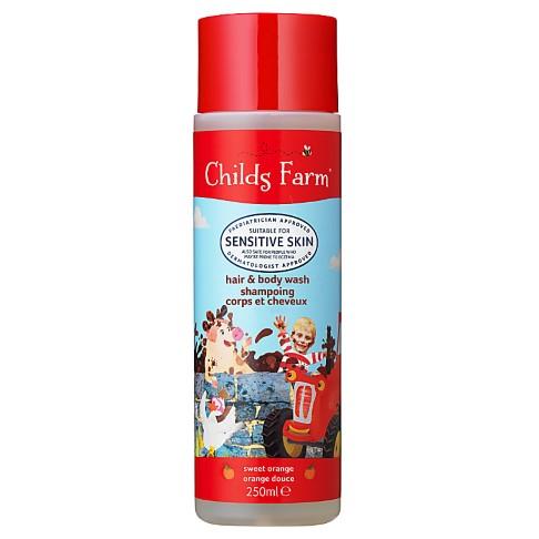 Childs Farm Gel Douche Corps & Cheveux Bio à l'Orange Douce