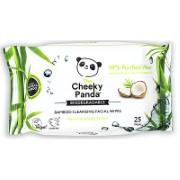 Cheeky Panda Lingettes Démaquillantes - Parfum de Coco