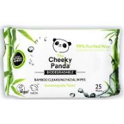 Cheeky Panda Lingettes Démaquillantes - Sans Parfum
