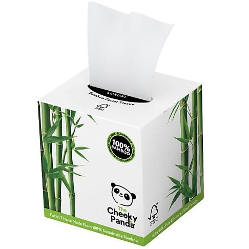 The Cheeky Panda Mouchoirs de Luxe en Bambou (Boîte de 56)