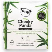 The Cheeky Panda Papier Toilette en Bambou - 9 rouleaux