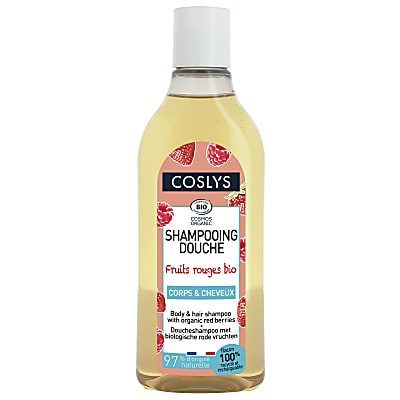 Coslys Shampooing Douche Fruits Rouges 250ml