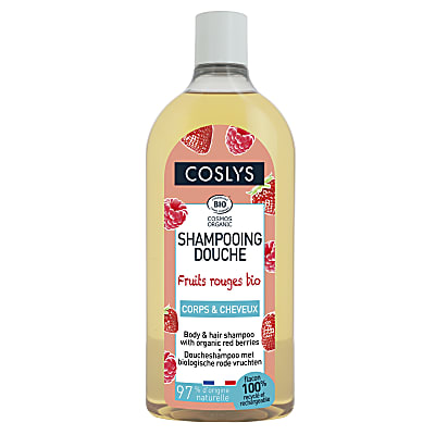 Coslys Shampooing Douche Fruits Rouges 750ml
