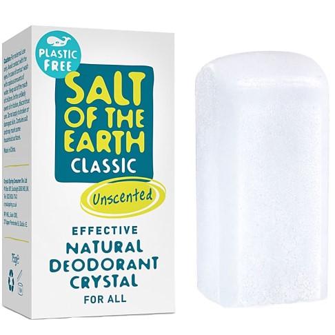 Crystal Spring Salt of the Earth Classic Déo Stick Naturel Sans Plastique
