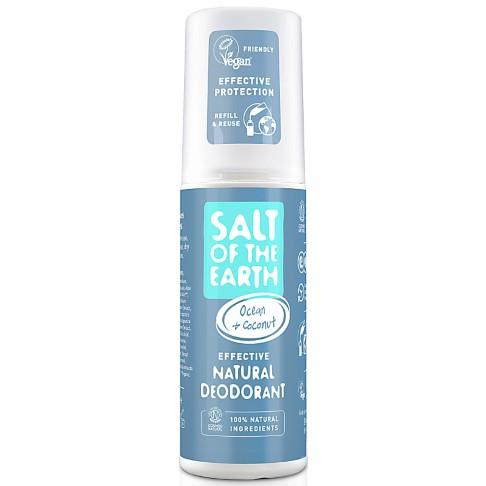 Crystal Spring Salt of the Earth Déodorant Spray Océan & Noix de Coco