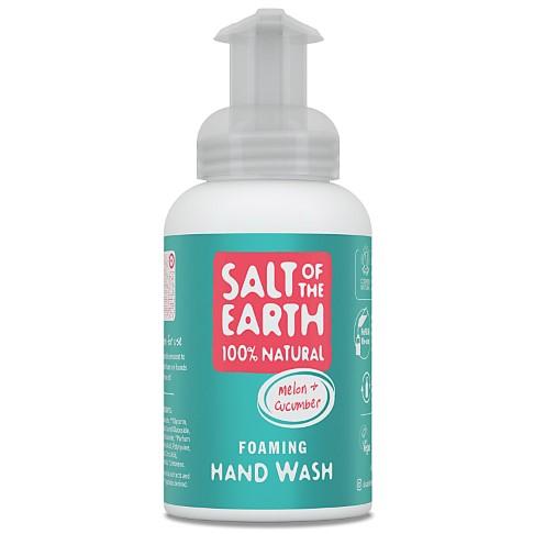 Salt of the Earth Savon Mains Moussant Melon & Concombre