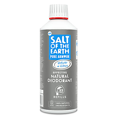Crystal Spring Salt of the Earth Pure Armour Déodorant Spray pour Homme Recharge