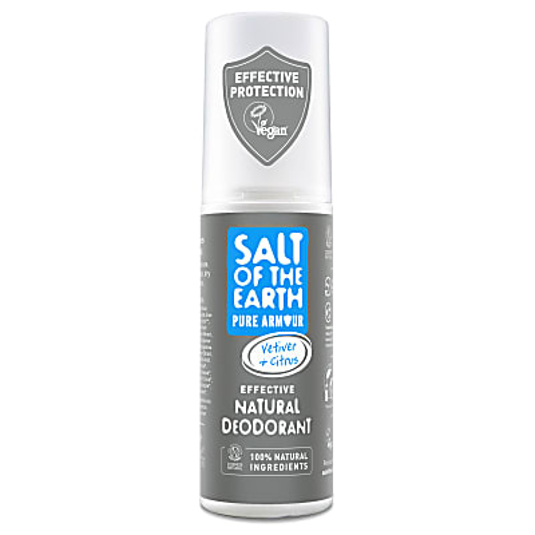 Crystal Spring Salt of the Earth Pure Armour Déodorant Spray pour Homme