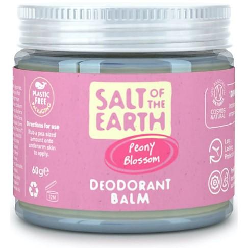 Crystal Spring Salt of the Earth Déodorant Baume Fleur de Pivoine