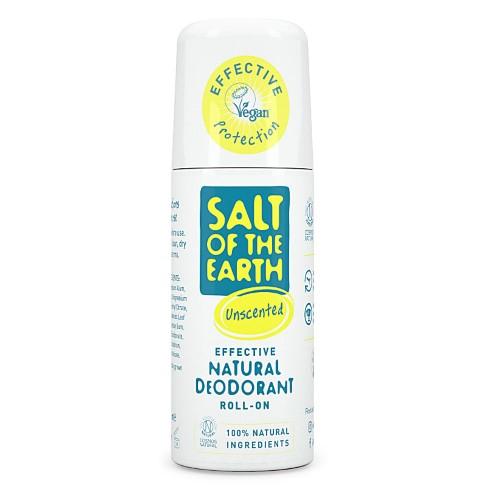 Crystal Spring Salt of the Earth Déodorant Roll-On Naturel Sans Parfum