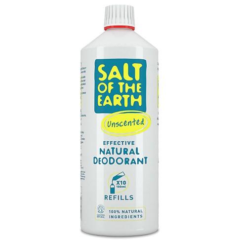 Crystal Spring Salt of the Earth Déodorant Spray Naturel Sans Parfum Recharge